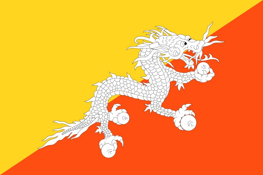 ブータン 国旗