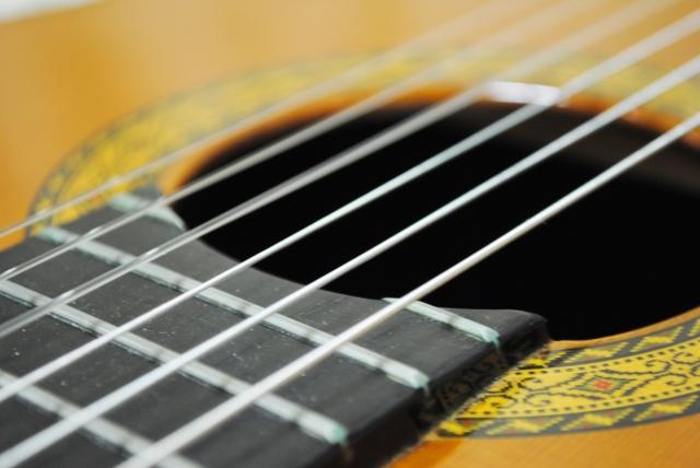 ギター ナイロン弦